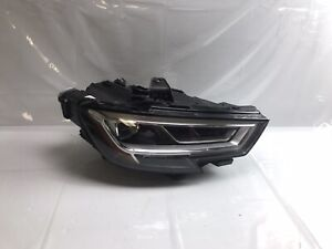 2017 2018 2019 AUDI A3 S3 RS3 Full LED Headlight Right W/module good tabs OEM