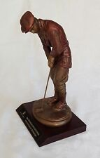Austin Sculpture Bronze Look Golfer Statue - Trophy - Golf