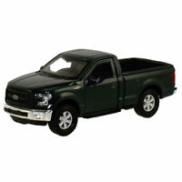 Pull Back Die-Cast Metal Vehicle - 2015 FORD F-150 REGULAR CAB (Green)(4.75 in)