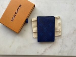 Louis Vuitton Taigarama Pocket Organiser - Blue
