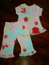 NEW Baby Nay Baby Girl Floral 2 pc Outfit sz 3 mo