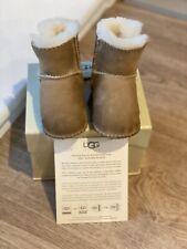 UGG Bambini Baby neumel Stivali Castagno Taglia UK 0.5 (0 6