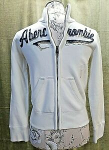 Abercrombie Boy's Zip Up Hoodie Size Small NWT