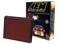 AEM 28-20129 STOCK REPLACEMENT WASHABLE REUSABLE PANEL AIR FILTER [MADE IN USA]