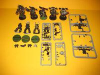 Warhammer 40k - Chaos Space Marines - 8x Marines aus Metall