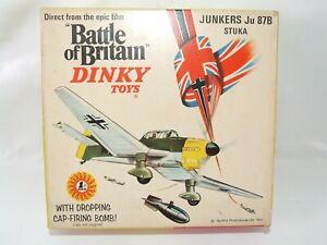 Dinky Toys Battle of Britain Junkers Ju 87B STUKA # 721 Near Mint Boxed WW2 WWII