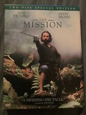 The Mission DVD 1986 Omnibus Making Of Doc 2 Discs LIKE NEW MINT De Niro Irons
