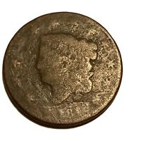 1816 Us Large Cent 1c Coronet Head Collectible Us Type Coin Better Date
