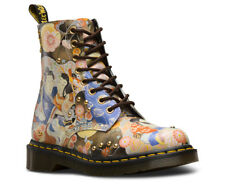 Dr Martens Pascal EA Oriental Eastern Art Backhand Straw Grain Leather Boots