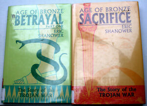 AGE OF BRONZE:THE STORY OF THE TROJAN WAR Eric Shanower V 2, 3A HC/DJ ex-lib