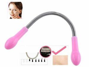 Beauty Device Women Face Hair Facial Hair Removal Spring Epilator Shaving Tool