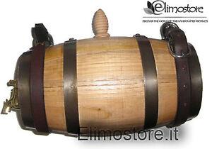 1 L Fût tonneau tonneaux en bois bonbonnes  Chien Saint Bernard Fûts de vin