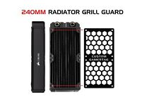 CUSTOM - 240MM GTX Computer Radiator Cover Plate Water Cooling Fan Guard Grill