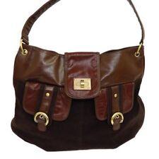 Bolso de mujer de color principal marrón sintético