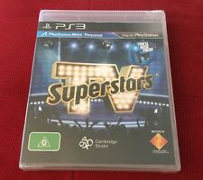 TV Superstars Move - New And Sealed - Sony PlayStation 3 - Ps3