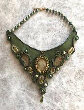 Handarbeit Leder Halsband Halskette Schmuck
