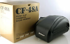 Genuine NIKON CF048a Front flap top case. for F90 F90x with 35-135mm. Excellent
