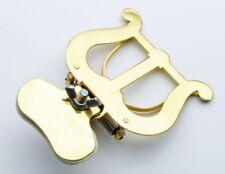 Lyre Courte (Porte Partitions) Dorée Pour Trombone