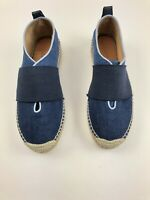 NEW! Rag & Bone: Nina Strap-Detail Denim Espadrilles Women's Size 37 Size 7 US
