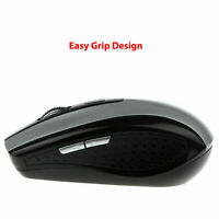 2.4GHz Wireless Cordless Mouse Mice Optical Scroll W/ E0C1 Laptop Computer L6C0