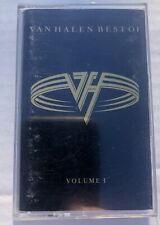 VAN HALEN - The Best Of Volume 1 Cassette Tape