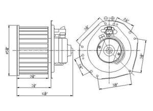HVAC Blower Motor TYC 700161