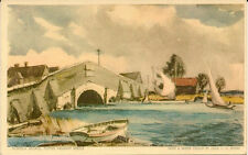POTTER HEIGHAM( Norfolk) : Potter Heigham Bridge - LESLIE MOORE - JARROLDS