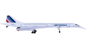 1:500 Herpa AIR FRANCE Concorde Passenger Airplane Diecast Aircraft Plane Model