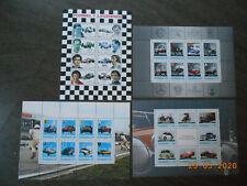 AUTO-Briefmarken aus Österreich : 4 seltene Briefmarkenblöcke, postfrisch