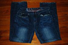"Men's Tokyo Five 5 ""Jitsu""  Relaxed Faded Denim Jeans (34 x 34)"