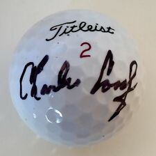 Charles Coody MASTERS CHAMPION Signed Titleist NXT Tour Golf Ball PSA/DNA COA