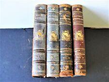 Nature's Wonderland (4 Volumes): J. Sterling Kingsley & Edward Breck 1894 .RARE!