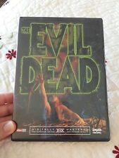 The Evil Dead (Dvd, 2002)~Comes With ~Ladies Of The Evil Dead Insert~
