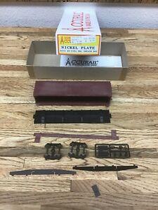 Accurail HO Scale Nickel Plate 40' USRA DBL Sheath Boxcar EUC I-1