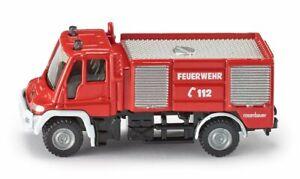 Siku Unimog Fire Engine Mercedes diecast metal 1:87 scale 1068
