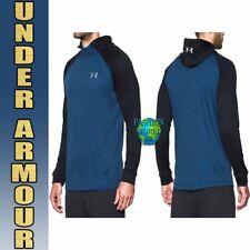 Under Armour Men's Size 3XL Tech Terry Pullover Hoodie 1289697 Blue/Black XXXL