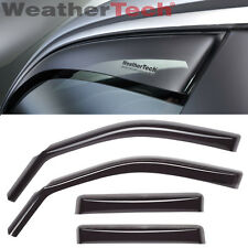 WeatherTech Side Window Deflectors for Ford Fusion - 2013-2017 - Dark Tint