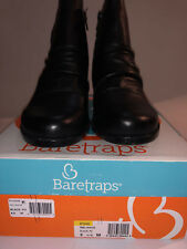 19a717bc0071 BareTraps Reliance Srunch Ankle BOOTS 233 Black 7.5 US