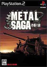 Used PS2 Metal Saga: Sajin no Kusari Japan Import (Free Shipping)