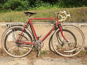 Vintage Raleigh Road Bike 4 Speed 1958