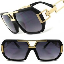 Vintage Retro Look Rich Millionaire Swag Hip Hop Rapper DJ Cool Sunglasses F34