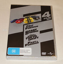 The Fast & The Furious 4 Film DVD Set New