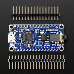 Adafruit Audio FX Sound Board, WAV/OGG Trigger mit 16MB Flash Speicher, USB,2220
