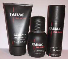 TABAC MAN Shower Gel & Shampoo 75 ml + Deodorant 50 ml + Eau de Toilette 30 ml