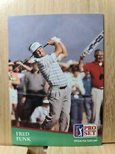 FRED FUNK🏆1991 PGA  Pro Set #54 Golf Card🏆FREE POST