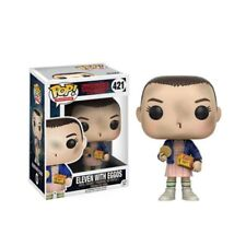 Funko POP Stranger things & little Eleven with eggos Action Figure toys Lizzj