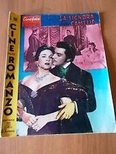 CineFoto Romanzo 26/1958 LA SIGNORA DELLE CAMELIE con Gino Cervi, Alba Arnova