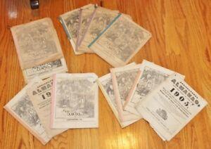 VTG Agricultural Almanac Lancaster, Pennsylvania  John Baer's Sons-Choice of Lot