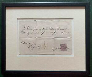 Scottish Clans Antique | McRae | 1875 Handwritten, Signed Promissory Note