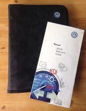 VW PASSAT OWNERS MANUAL HANDBOOK WALLET 1996-2000 S,SE,SPORT,TURBO,4MOTION,